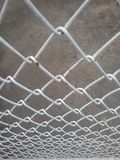 Steel grille. Stock Photos