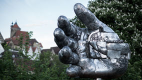 Steel Hand. Of a Giant Royalty Free Stock Photography