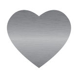 Steel heart Royalty Free Stock Photo