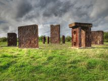 Steel Henge Royalty Free Stock Images