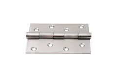 Steel hinges Stock Photos