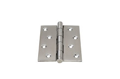 Steel hinges Stock Images