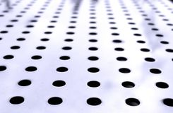 Steel with Holes Stock Photos
