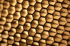 Steel honeycomb Royalty Free Stock Photo
