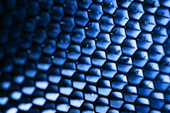 Steel honeycomb Stock Image