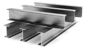 Steel I-beam Royalty Free Stock Photography
