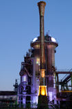 Steel industry blast furnace Stock Photos