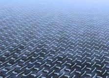 Steel infinity Stock Image