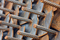 Steel iron Stock Image