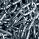 Steel or iron chain Royalty Free Stock Image