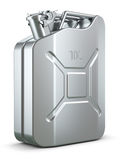 Steel jerry can Royalty Free Stock Photography