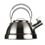 Steel kettle Royalty Free Stock Photos
