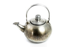Steel Kettle Stock Image