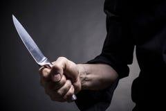 Steel knife stock photos
