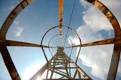 Steel ladder Stock Images
