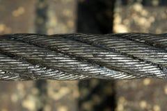 Steel line. Of bucket wheel machine Stock Photography