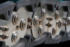 Steel Link Chain Royalty Free Stock Photo