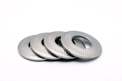 Steel lock Washer Royalty Free Stock Photography