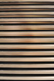 Steel louver with light design Royalty Free Stock Images
