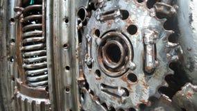 Steel machinery Stock Photography