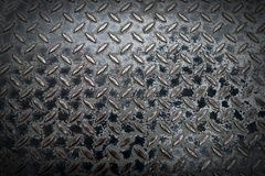 Steel manhole Stock Photography