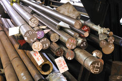 Steel Materials Royalty Free Stock Images