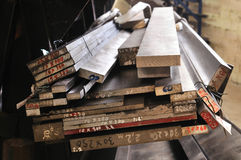 Steel Materials Royalty Free Stock Photos