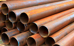 Steel  for mechanical engineering Stock Photos