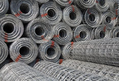Steel mesh Stock Photos