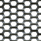 Steel Mesh Stock Photo