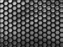 Steel mesh background. Background made of a metal material. Is strong Stock Images
