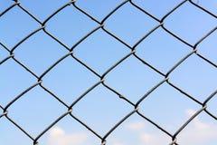 Steel mesh fence Stock Photos
