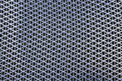 Steel mesh. Grid of car air filter. Metal grill texture of vehic Royalty Free Stock Image