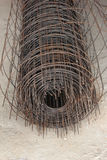 Steel mesh infrastructure Royalty Free Stock Images
