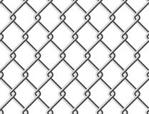 Steel mesh metal fence seamless structure Stock Images