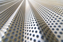 Steel mesh screen horizontal Royalty Free Stock Images