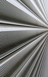 Steel mesh screen vertical Stock Photo