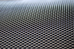 Steel mesh trashbin 2 Royalty Free Stock Photography