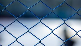 Steel mesh. used for sampling and separation royalty free stock photos