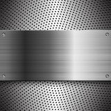Steel metal abstract background Stock Images