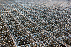 Steel Metal mesh. Stock Images