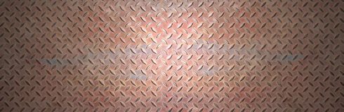Steel metal plate. Rusty steel metal plate banner background Royalty Free Stock Photography