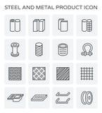 Steel metal product Stock Photography