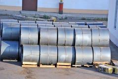 Steel metal-roll Royalty Free Stock Photos