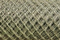 Steel metallic net Royalty Free Stock Photography