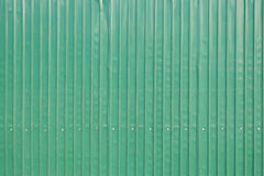 Steel metallic old door, green grunge metal Royalty Free Stock Photo
