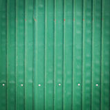 Steel metallic old rusty door, green grunge metal Royalty Free Stock Image