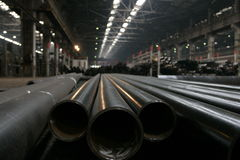 Steel Mill royalty free stock image