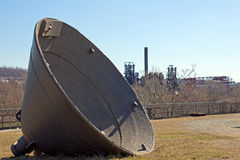 Steel Mill Bell & Carrie Blast Furnace Royalty Free Stock Photos
