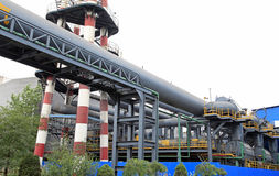 Steel mill equipment Stock Photos